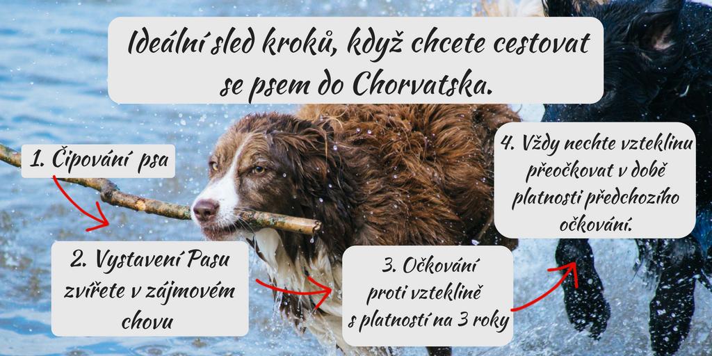 Cestování se psem do Chorvatska (1)